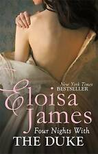 Four Nights with the Duke by Eloisa James (Paperback, 2015) New