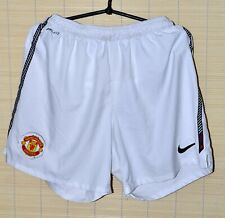 MANCHESTER UNITED 201-/2011 HOME FOOTBALL SHORTS JERSEY NIKE SIZE M ADULT