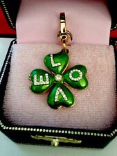 NEW IN BOX 2007 JUICY COUTURE LOVE CLOVER CHARM YJRU1681