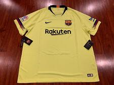 2018-19 Nike Breathe FC Barcelona Men's Away Soccer Jersey XXL 2XL Barca