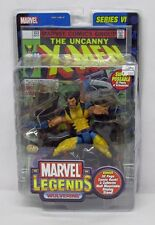 Marvel Legends Series 6 Wolverine Maskless Yellow Costume Variant ToyBiz S145-5