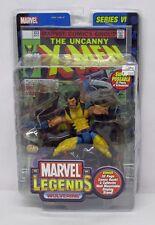 Marvel Legends Series 6 Wolverine Maskless Yellow Costume Variant ToyBiz S145-5