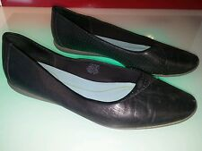 rockport dynamic suspension black leather shoes size 8.5 women good condition