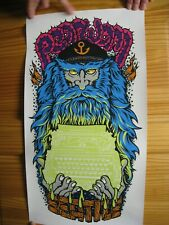 Pearl Jam Poster SilkScreen Back Spacer Seattle 2009