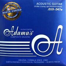 Adamas Nuova 1616NU Akustik Gitarre Phosphor Bronze Saiten 12Saiter SATZ
