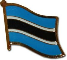 Botswana Country Flag Bike Motorcycle Hat Cap lapel Pin
