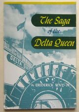 Delta Queen Cincinnati Steamer Boat Paddleboat 1951 Panama Canal nautical travel
