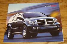 Original 2007 Dodge Durango Deluxe Sales Brochure 07