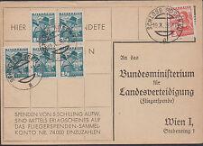 Österreich 1936 SPENDENKARTE 19.X.1936 - SCHLOSS ROSENAU a lt. Bild