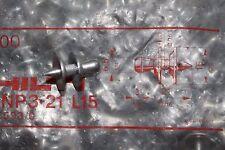 25 PEZZI HILTI direttamente fissaggio PEV 3-21 l15 profilo chiodi LAMIERA ORIGINALE