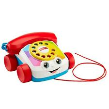 Fisher-Price Chatter Telephone Pull Along Educational Toy For Kids