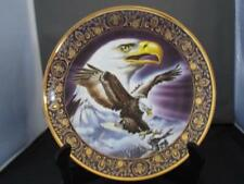 """Royal Doulton 8"""" Eagle Collectors Plate ~Majestic Freedom ~Franklin Mint ~ New"""