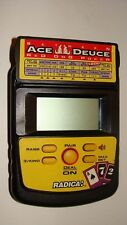 Radica Between Ace Deuce Red Dog Poker Handheld Electronic Game Model: 2860