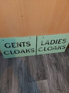Antique Ceramic Signs