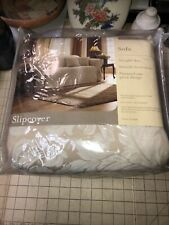 Home Trends Sofa Slipcover 74� By 96� Straight Skirt Smith Front Arms New