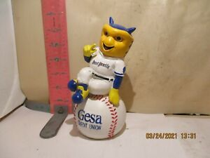 TRI-CITIES DUST DEVILS MASCOT , DUSTY BANK - SPONSORED BY GESA CREDIT UNION