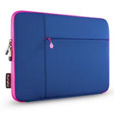 Runetz - Sleeve for MacBook 12 inch Laptop Air 11 Neoprene Cover Case NAVY/PINK