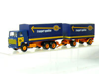 Herpa Albedo Scania 111 ASG transport Spedition Planen HZ - OVP