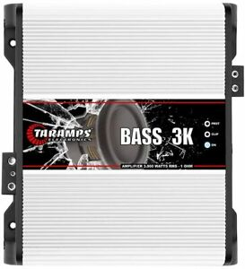 Taramps BASS 3K Amplifier 3000 1 Ohm HD Compact Car Audio Amp
