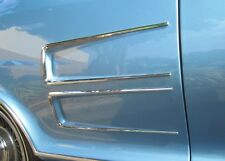 1963-1964 Buick Riviera Rear Quarter Panel Horseshoe Ornaments. Chrome Set RO634