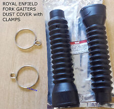 NEW ROYAL ENFIELD FORK GAITERS DUST COVER FOR ELECTRA MODEL