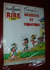 MODESTE ET POMPON, FRANQUIN LES CLASSIQUES DU RIRE 1955, LE LOMBARD 1996,NEUF !!