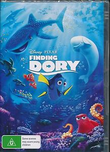 Disney Pixar Finding Dory DVD NEW Region 4 PAL