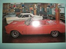 Car dealership Pletcher Ford car dealer auto 1965 Philadelphia postcard