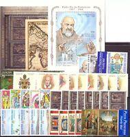 1999 Vaticano Annata Completa Nuovi Come Unificato 39 Valori + 3 Bf  Integri