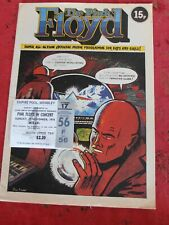 PINK FLOYD OFFICIAL PROGRAMME UK TOUR & TICKET WEMBLEY 1974 EX to NM