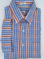 Men's Peter Millar Multicolor Short Sleeve Button Down Shirt Size-Large
