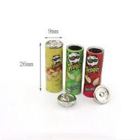 3PCS Miniature Chips Potato Food Snack 1:12 Scale Dollhouse Accessory Decor Gift