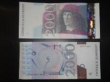 SPECIMEN - Billet Echantillon Botticelli - NEUF - Giesecke & Devrient - TOP