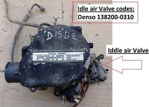 DUAL POINT PGM-FI INTAKE HOUSING BOX VACUUM HONDA CIVIC 1988 91 D15B2 16V 1,5cc