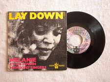 "45T 7"" MELANIE ET LES EDWIN HAWKINS SINGERS ""Lay down"" BUDDAH RECORDS 610054 µ"
