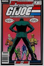 G.I. JOE (A REAL AMERICAN HERO  # 86    MARVEL   25th ANNIVERSARY ISSUE!!!