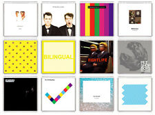 PET SHOP BOYS COLLECTION OF 12 FRIDGE MAGNET LP COVERS IMANES NEVERA