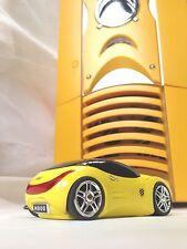 Scorpio II Gaming PC Case Yellow Colour + Bonus Yellow Racing Car Mouse