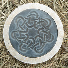 "Gothic Pagan Wicca Celtic mold stepping stone plaster concrete mould 10"" x 1.5"""