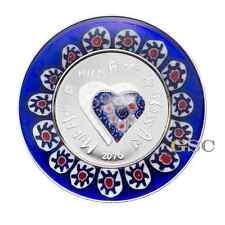 Cook Islands 2016 5$ Murrine Millefiori II Glass Art handgemachte Silbermünze