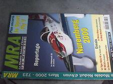 $$v Revue MRA N°723 Plan encarte Sport Fly V  Tiger Stick 40  RC MC10  Memo-Stop
