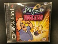 Big Strike Bowling PS1 Brand New Factory Sealed Sony Playstation 1 Hang Tab