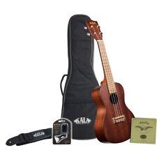 Kala KA-15C Concert Ukulele Bundle w/ Gig Bag, Strap, Strings and Tuner