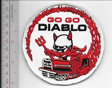 Snowmobile Bolens Diablo Rouge Hus-Ski Promo Patch Pte Claire, Quebec Canada red