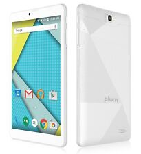 "Plum Optimax 8"" Tablet Phone 4G GSM Unlocked Android Phablet ATT Tmobile Metro"