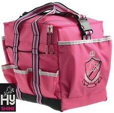 HySHINE Deluxe Grooming Bag **PINK**  Handy for Competition Days  **FREE P&P**
