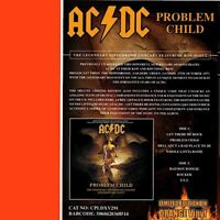 AC/DC - Problem Child - The Legendary Hippodrome Concert - Orange Vinyl  CPLDX