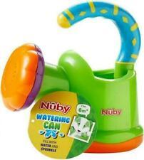 Nuby Fun Watering Can Bath garden Toy unisex plastic green blue orange purple