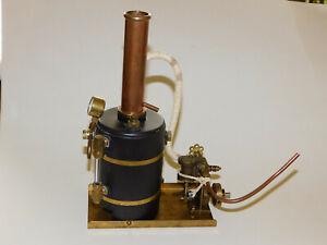 Vintage Marine Live Steam Engine And Boiler