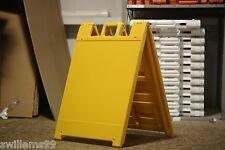 "Plastic A-Frame - 24""x24"" Squarecade 36 (Yellow)"